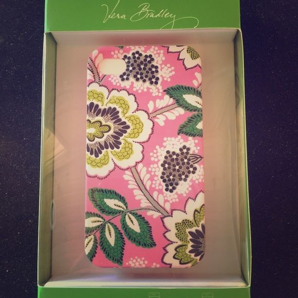 NWT Vera Bradley iPhone 4 or 4s case Unopened case ! Bought and then got a new phone haha so never used it ! Vera Bradley Accessories Phone Cases