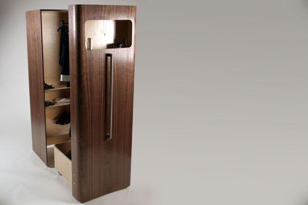wardrobe in long narrow bedroom - Google Search