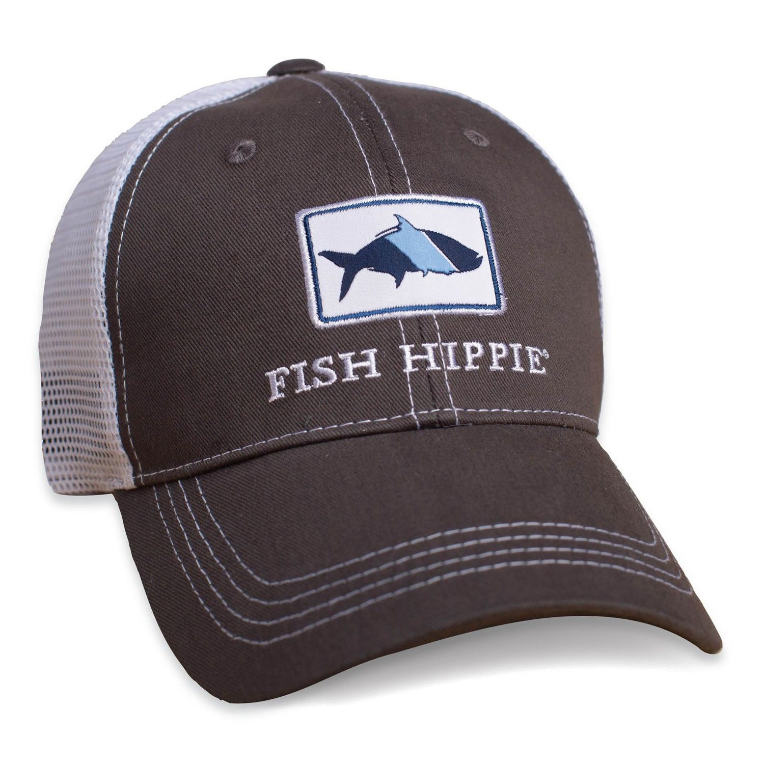 Fish Hippie Trucker Hat  2aa57f2ba8f