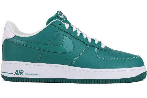 buy popular a45ae 55939 Nike Air Force 1 Lush Teal White Mens Sneaker 488298-302 (9) Nike