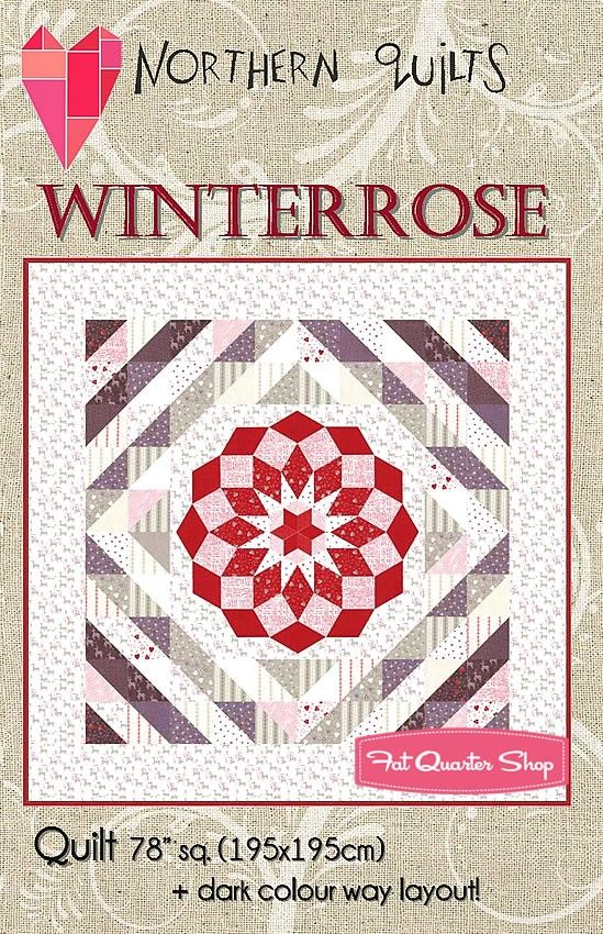 Winterrose Quilt Pattern<BR>Northern Quilts