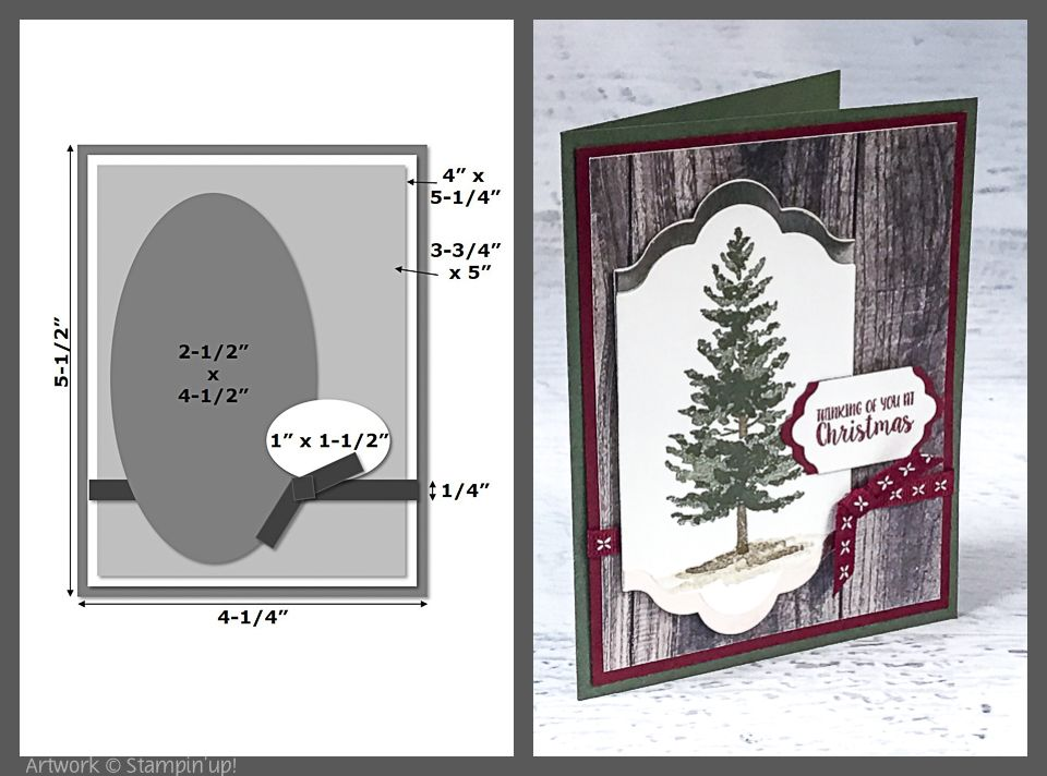 The first sample created for our monthly card layout features the - Sample Cards