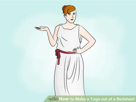 Make a Toga out of a Bedsheet | Kostüme und Feste | Pinterest ...
