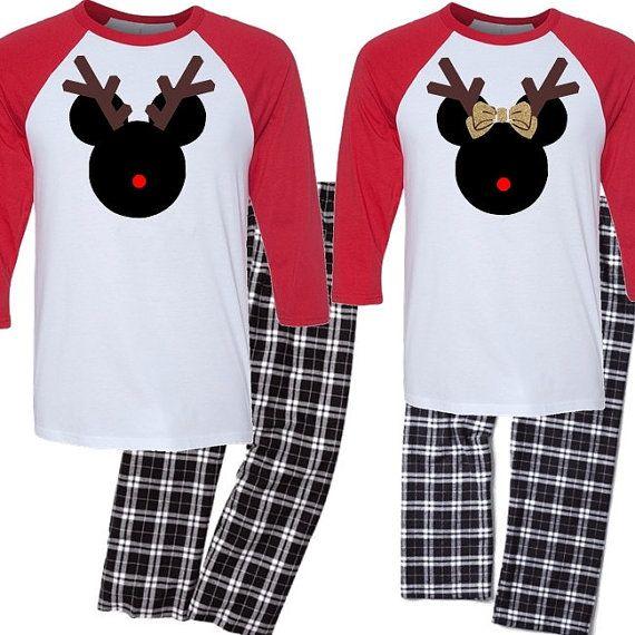 a48f459d37 Christmas Couple's Pajama Set His and Her Pajama by BeforeTheIDos  #beforetheidos #christmas