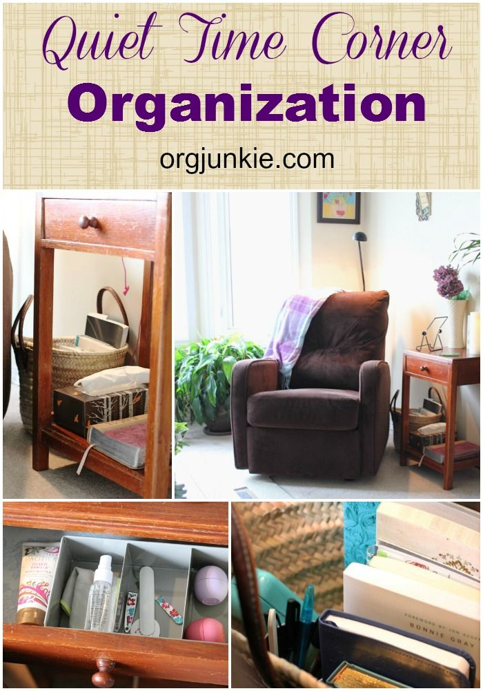 Attirant Room · Quiet Time Corner Organization   Living ...