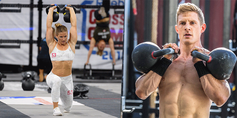 Royalty Free Crossfit Kettlebell Swing Pictures, Images