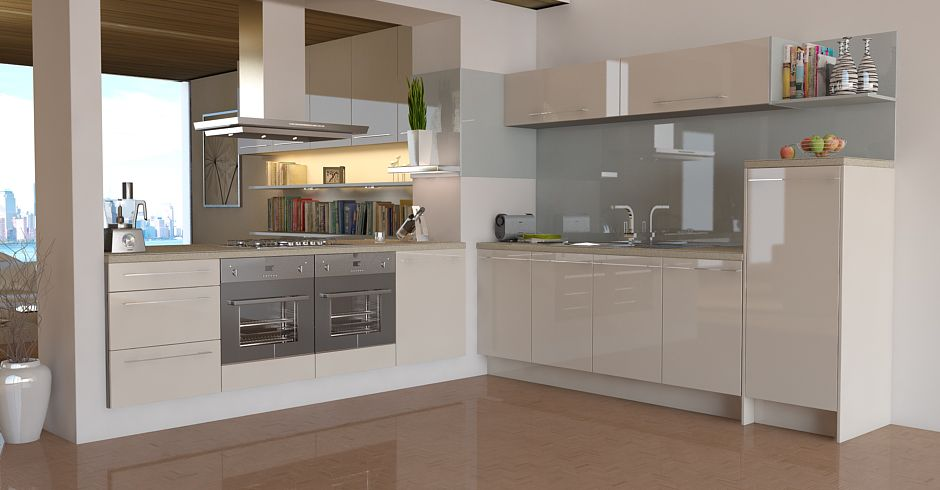 wren kitchen design pacrylic champagne quartz high gloss kitchens wren 1190