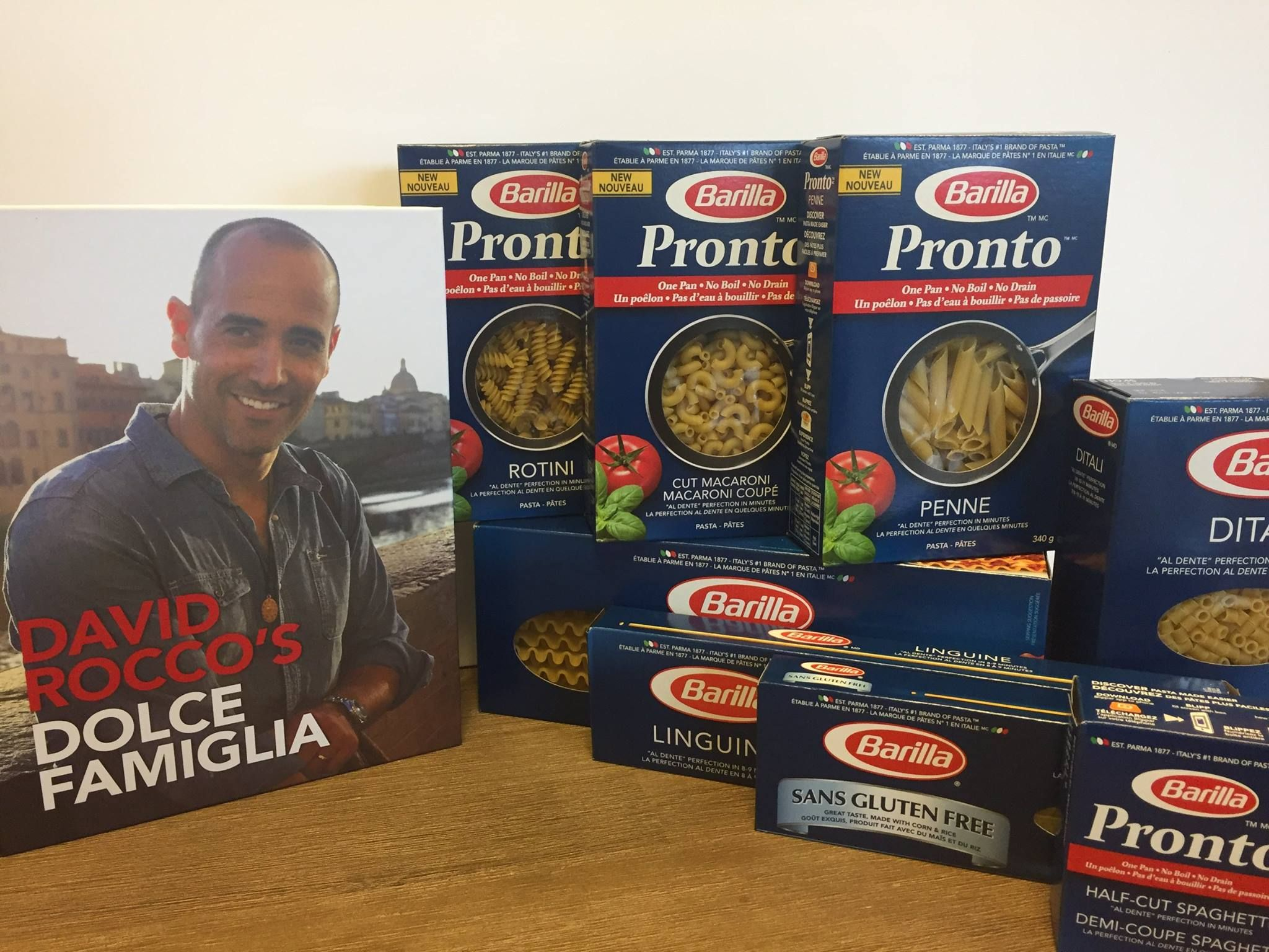 CBC Life Contest Win David Rocco's cookbook and pasta