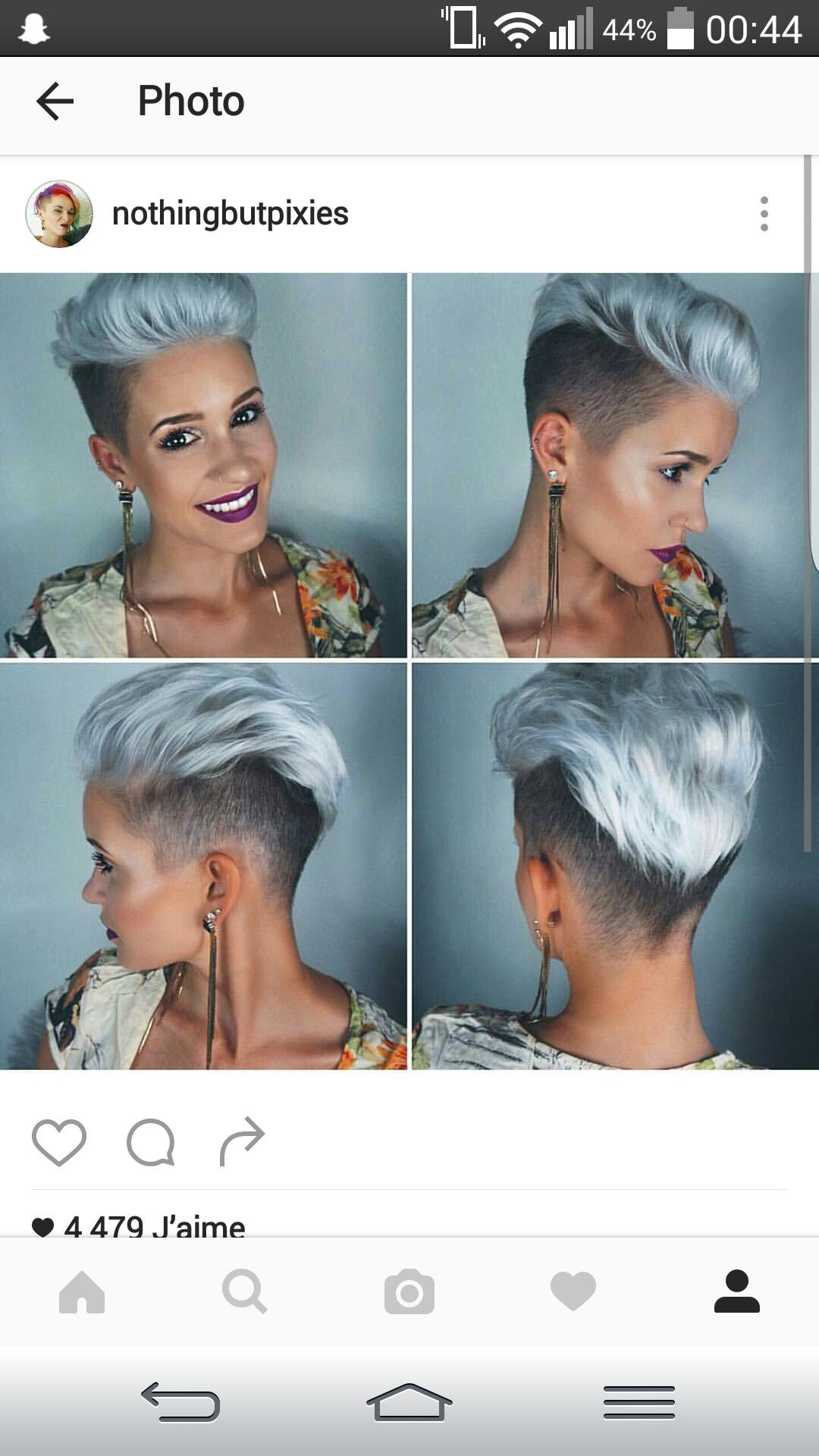 Pin by blanche bagby on mohawk pinterest hair style short hair