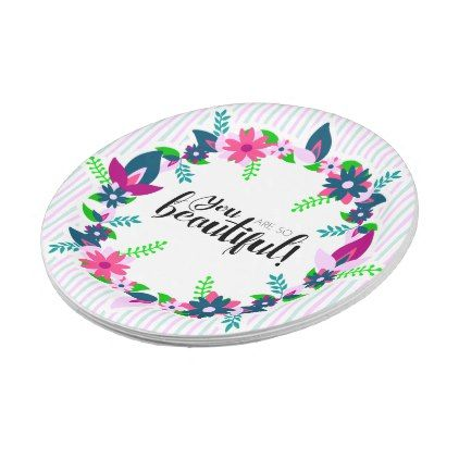 sc 1 st  Pinterest & You are so Beautiful! Paper Plate