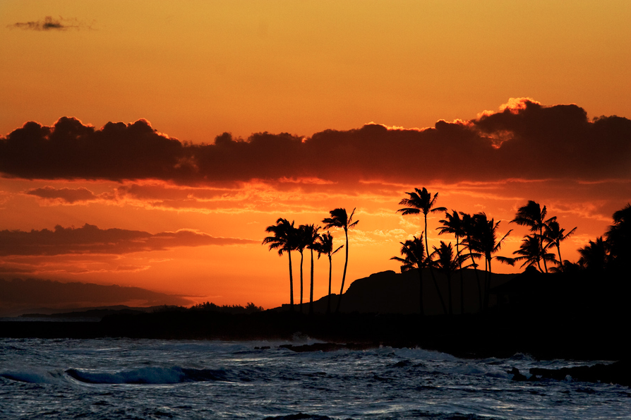 Sunset With Sea Wave Tap To See More Breathtaking Beach: Enjoy The Waves Tumblr- Beach Sunset