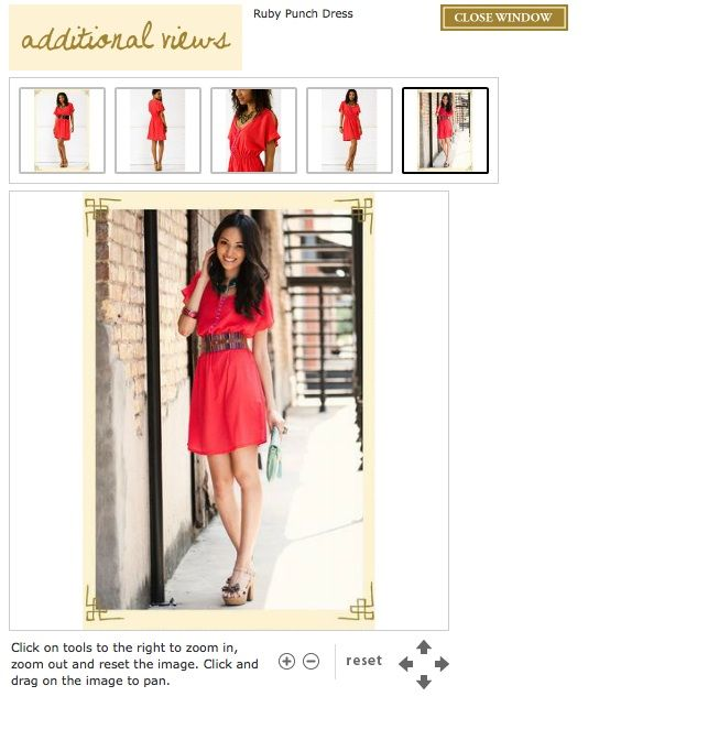 Ruby Punch Dress available at Francesca's Collections $44.00