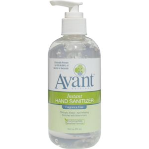 8 5 Oz Of Fragrance Free Hand Sanitizer A Drop Of Nature