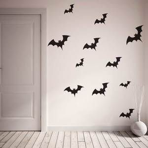 Family of Bats - Halloween Wall Decal