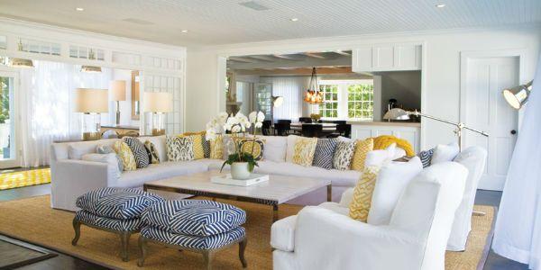 enjoy the Hamptons style… | Homely | Pinterest | Interiors, Living ...