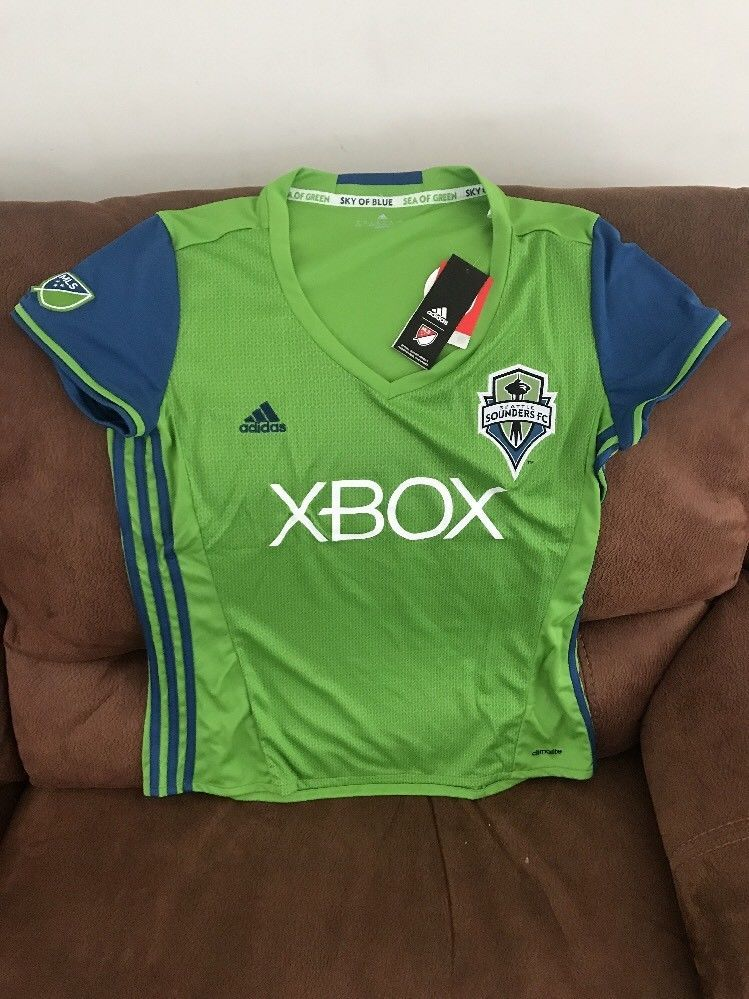 Adidas Seattle Sounders MLS Soccer Jersey NWT Size XL