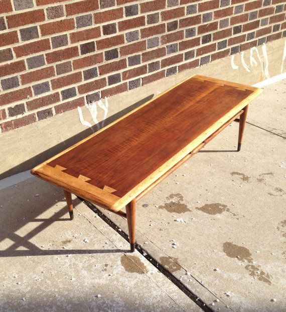 Mid Century Modern Lane Acclaim Coffee Table by bcdrygoods on Etsy