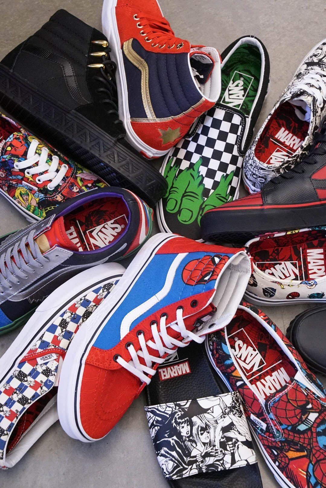 scarpe marvel vans