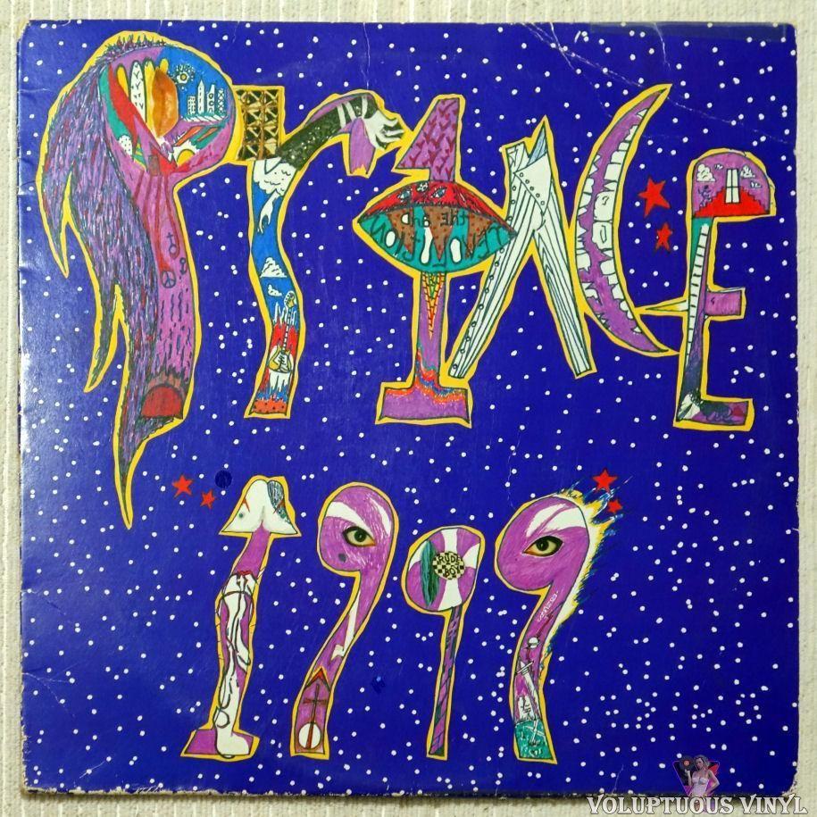 Prince 1999 1982 2xlp Prince Album Cover Album Cover Art Little Red Corvette