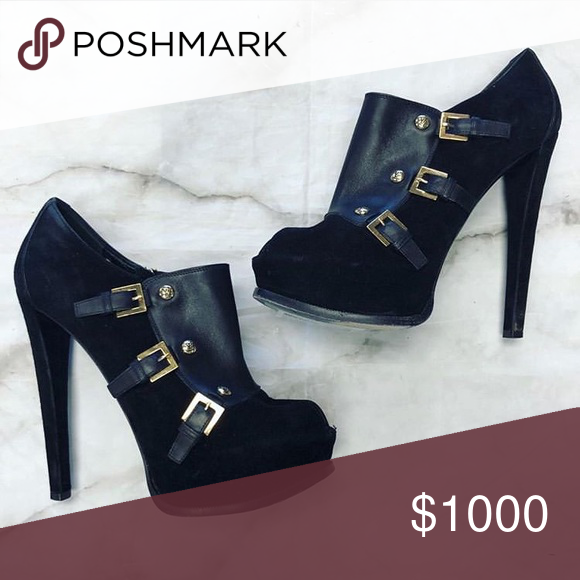 17107622f71 Spotted while shopping on Poshmark  Louis Vuitton Heeled Booties!  poshmark   fashion  shopping  style  Louis Vuitton  Shoes