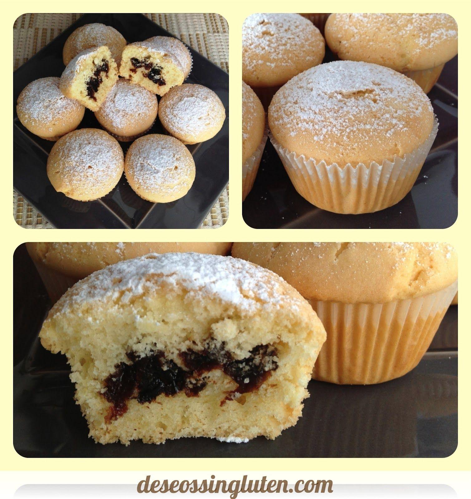 Deseos Sin Gluten Magdalenas Alimentos Sin Gluten Comidas Sin Gluten