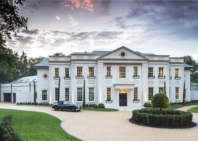6 Bedroom 15 000 Sq Ft Mansion Set Within A Private Gated Estate In Surrey Mansions Mansions Homes Luxury Real Estate
