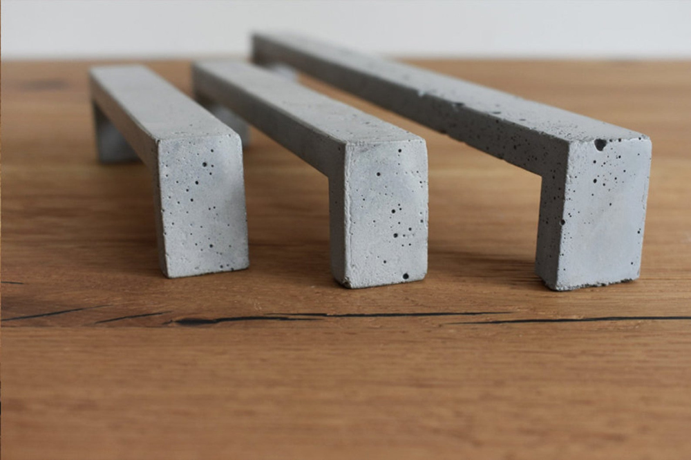 Concrete Drawer Pull Cupboard Draw Handle Concrete Handle Etsy In 2020 Draw Handles Cabinet Drawer Handles Drawer Handles