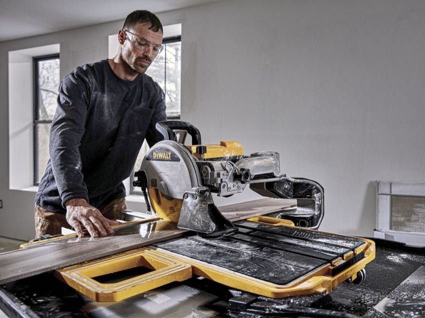 Dewalt 10 Inch Wet Tile Saw D36000 Pro Tool Reviews In 2020