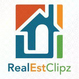 real estate paperclip mortgage remodeling renovation logo logo rh pinterest co uk remodeling contractor logos remodeling company logos