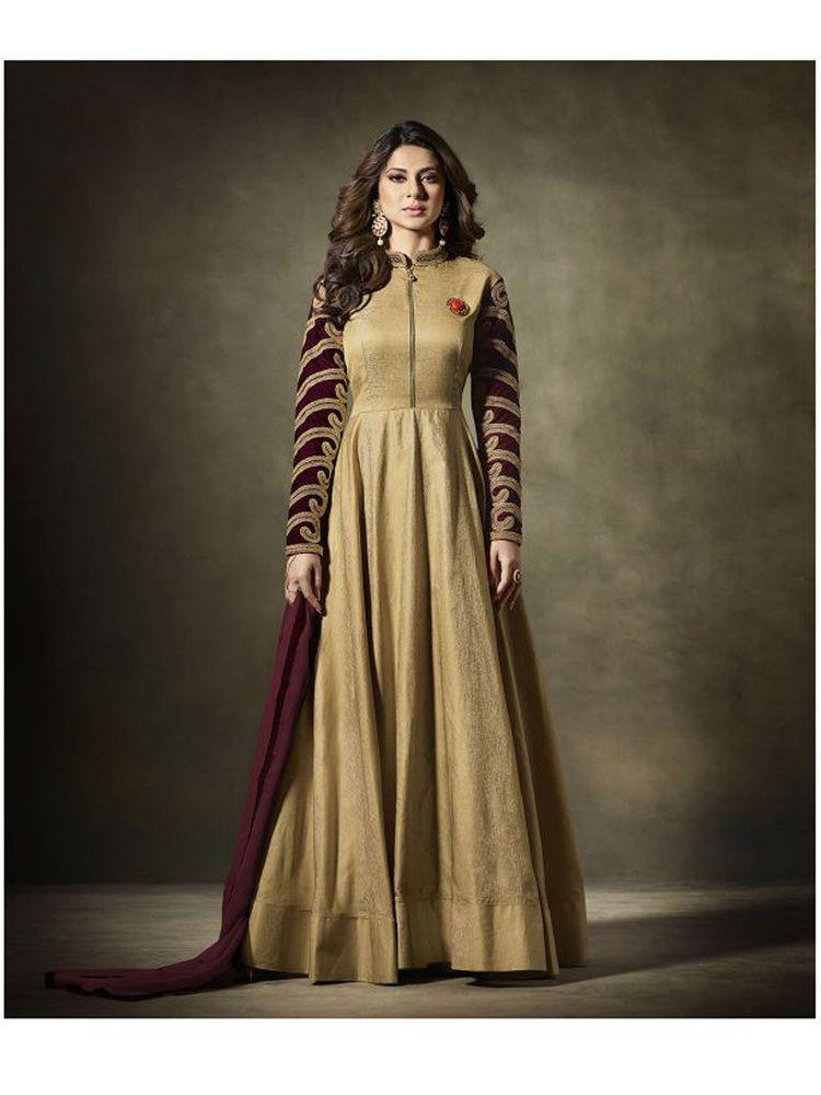 54e030d5bcb Indian Bollywood Designer wedding Partywear Anarkali Dress Material for  women  Shoppingover  SalwarKameez