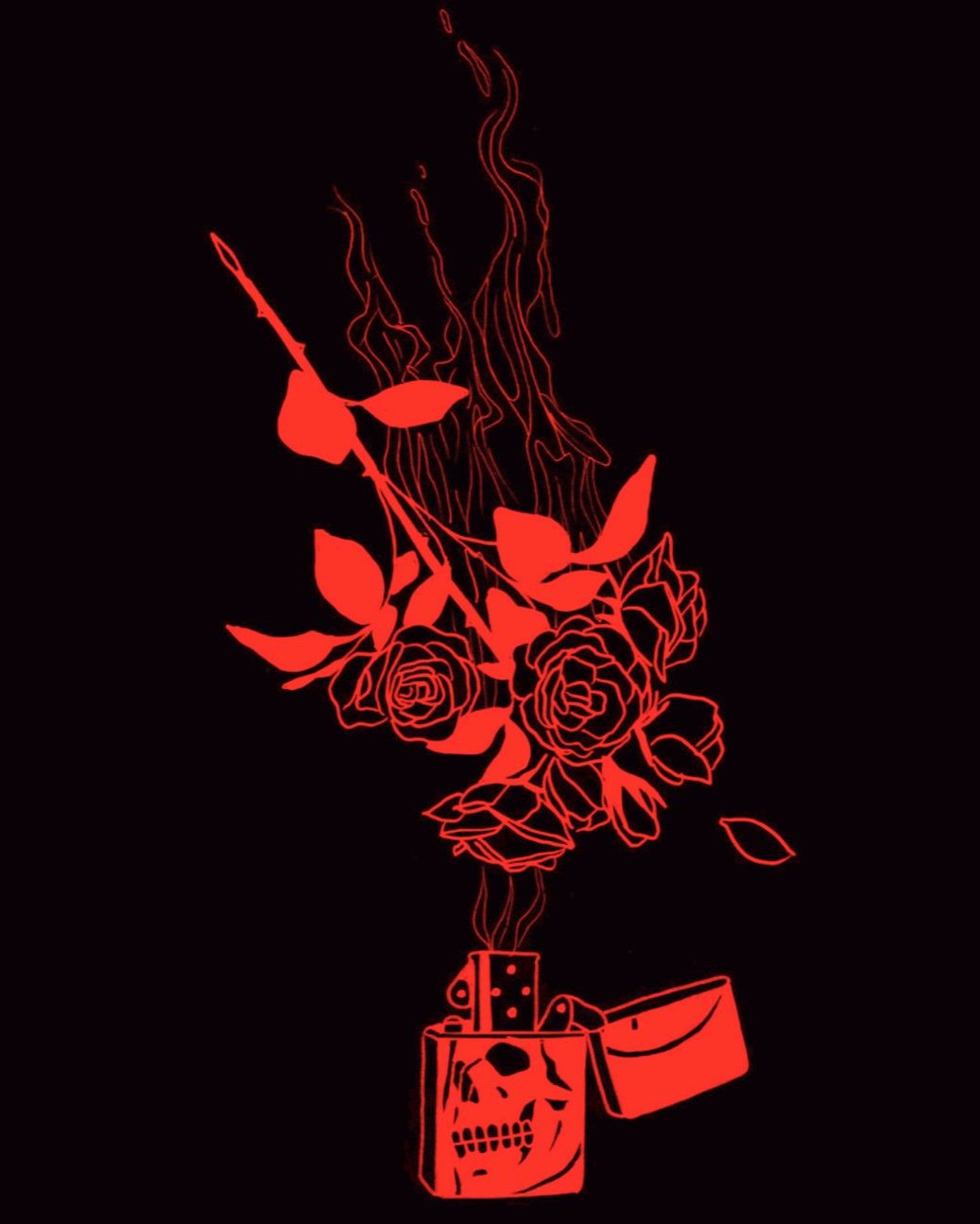 Your Behaviour Changed After We Went To Water Our Plants Or Was It Just Me Red Aesthetic Aesthetic Art Black Aesthetic Wallpaper