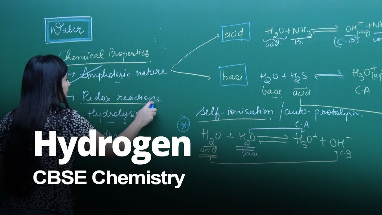 Watch This Video Lecture About Water And It S Chemical Properties - Online Test For Chemical Reactions And Equations