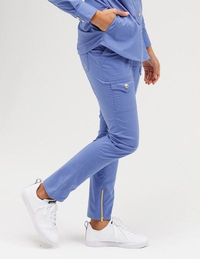 10392ee99e3 The Skinny Cargo Pant Ceil Blue. The Skinny Cargo Pant Ceil Blue Jaanuu  Scrubs ...