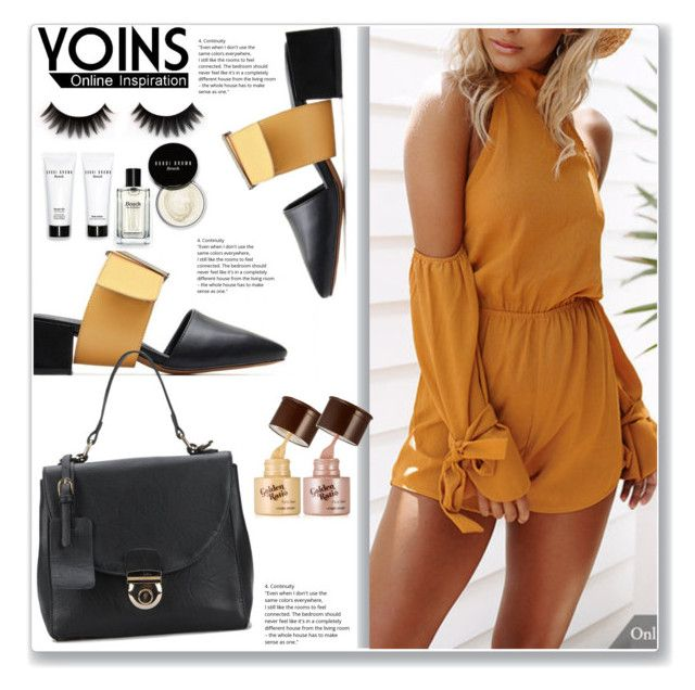 """""""Yoins #3"""" by lejla-7 ❤ liked on Polyvore featuring Bobbi Brown Cosmetics, yoins, yoinscollection and loveyoins"""