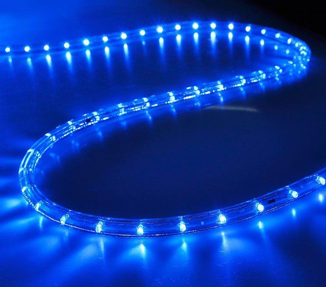 outdoor christmas blue led rope lights wholesale