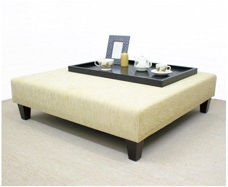 Armitage Large Square Coffee Table Stool Large Square Coffee