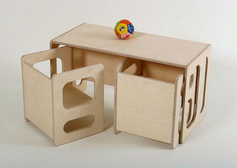 Kindermöbel Kindertisch Tim Und Zwei Stühle Charlie Im Set