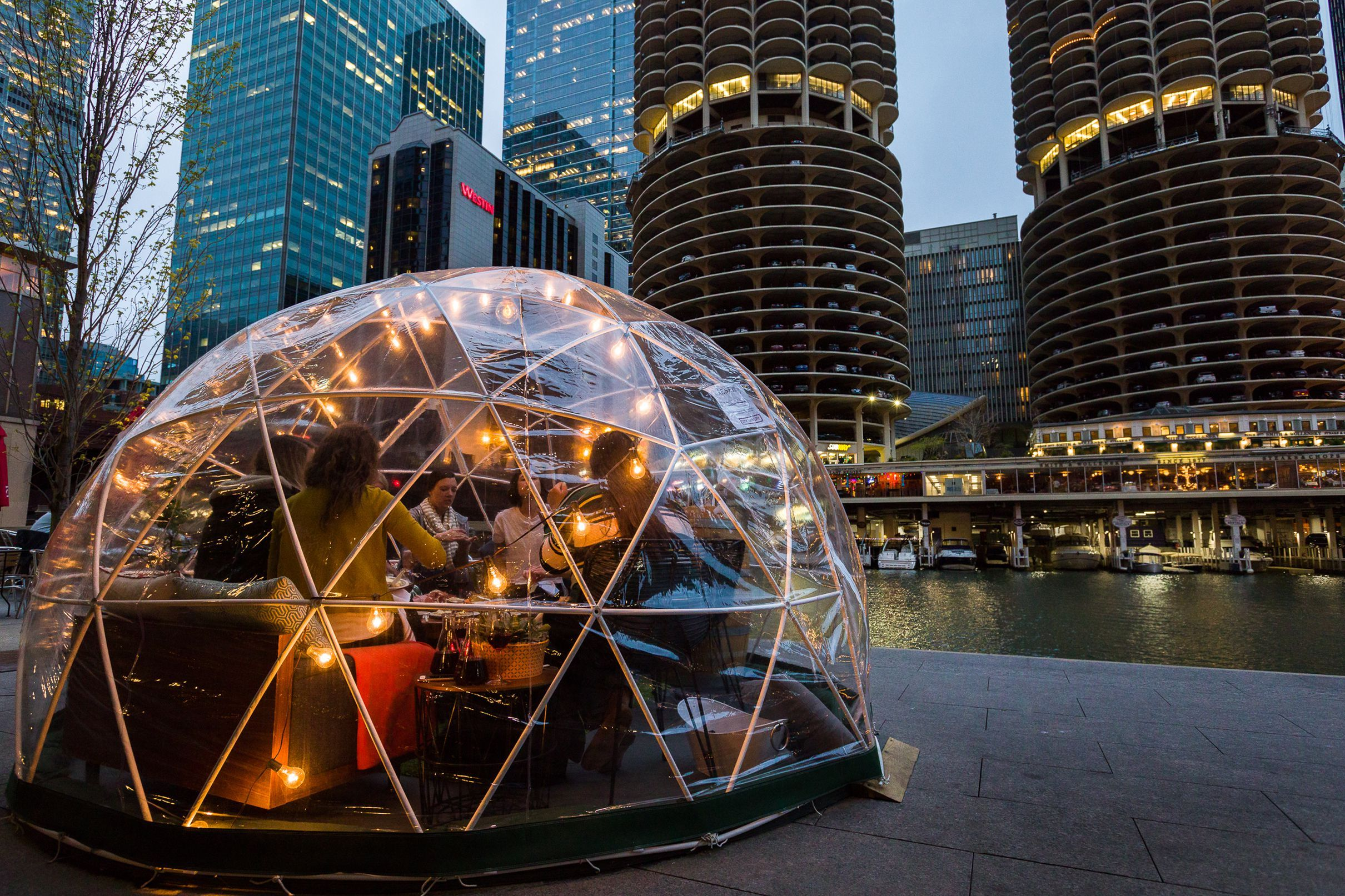River Domes Are Coming Back To The Riverwalk And More Intel City Winery Chicago