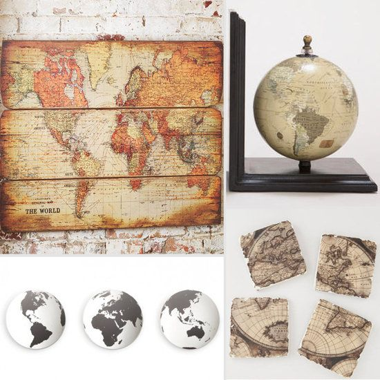 Awesome Travel Inspired Home Decor