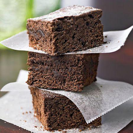 Cinnamon-Spice Chocolate Brownies #lowcal #dessert #sweet #treat