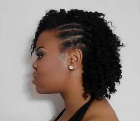 Coiffure tresse cheveux naturel Short hair styles, Hair