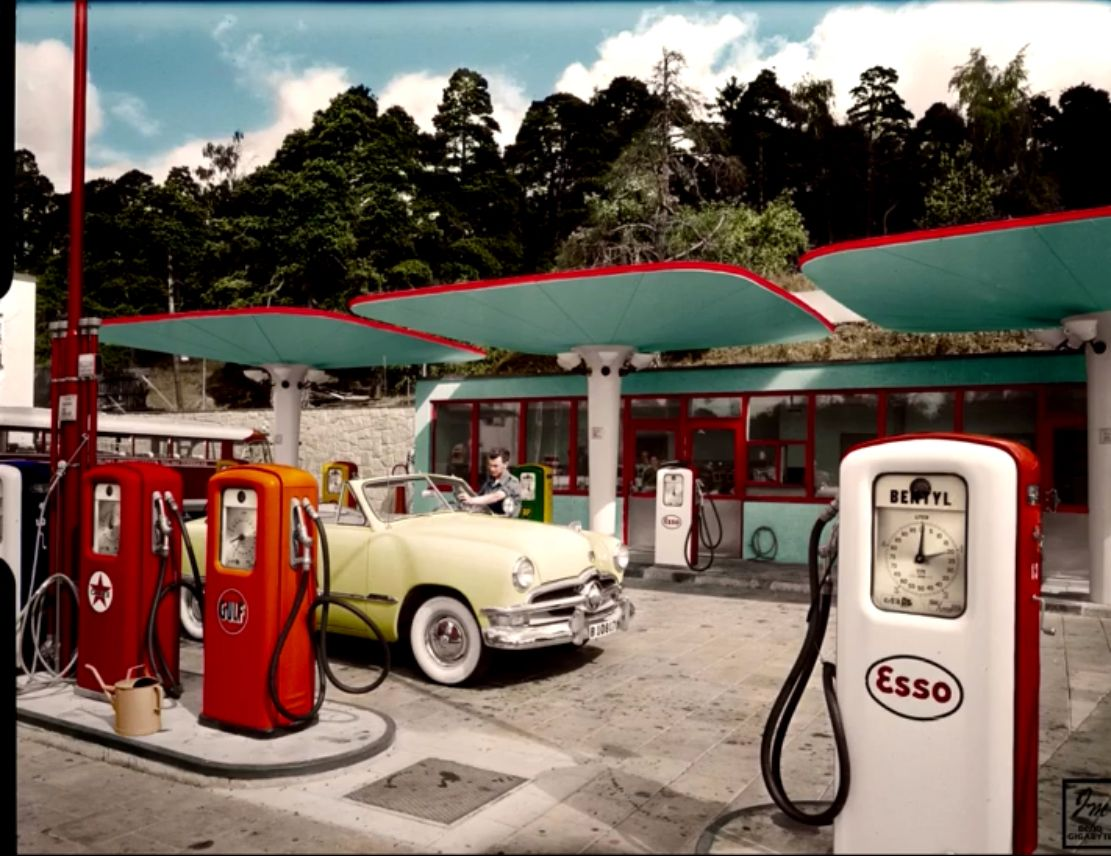 Pin by Merri Dee on Stuff Gas station, Old gas stations