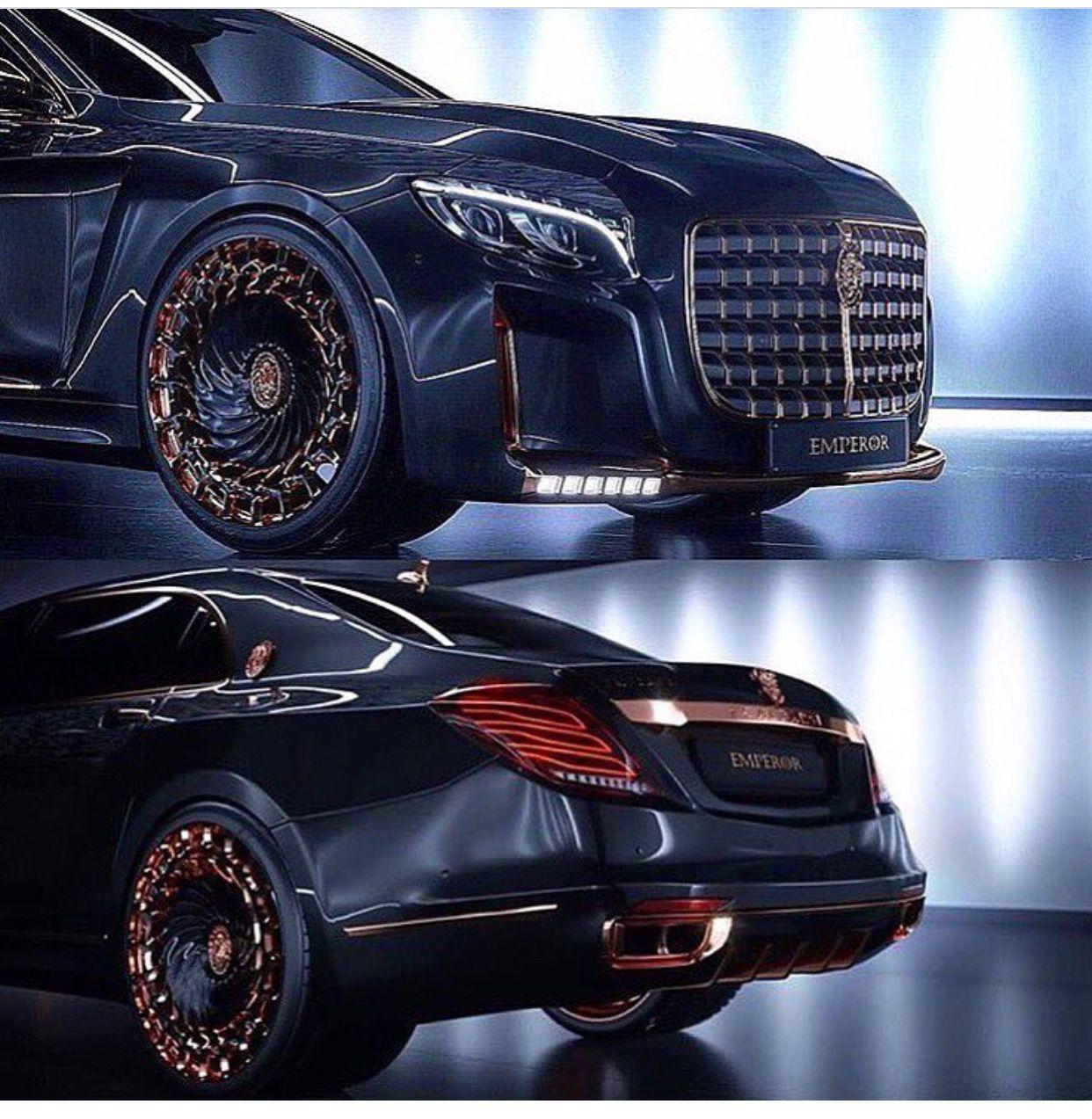 Scaldarsi motors maybach based 1 5 million emperor i is a sight to - Mercedes Maybach Emperor