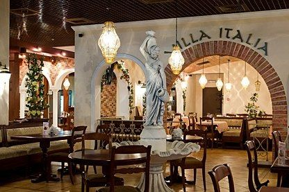 Looking For The Italian Look In My Kitchen. This Is A Restaurant In Italy.