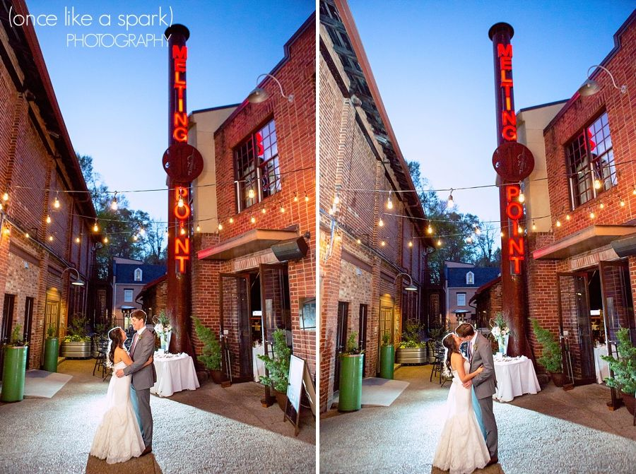 Athens Ga Wedding Melting Point Graduate Hotel