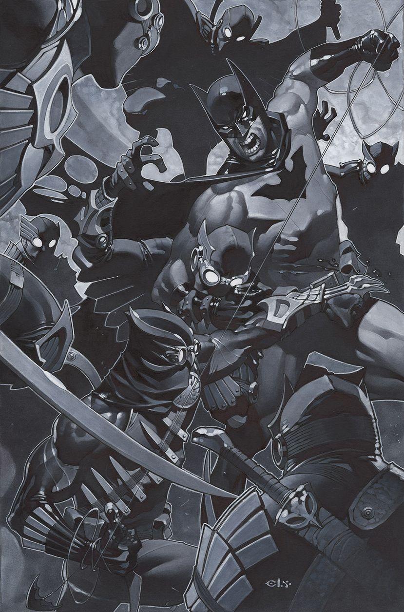 Batman vs Talon & The Court of OwlsbyChris Stevens