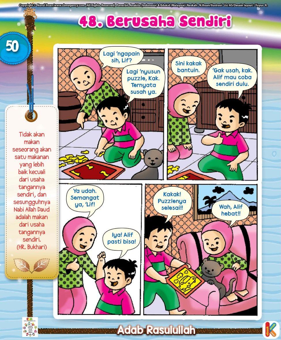 101 Komik Teladan Islam dan Adab Hadist Rasulullah adalah