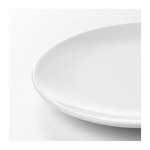 FLITIGHET 18-piece dinnerware set - IKEA  sc 1 st  Pinterest & FLITIGHET 18-piece dinnerware set white | Dinnerware and Apartments
