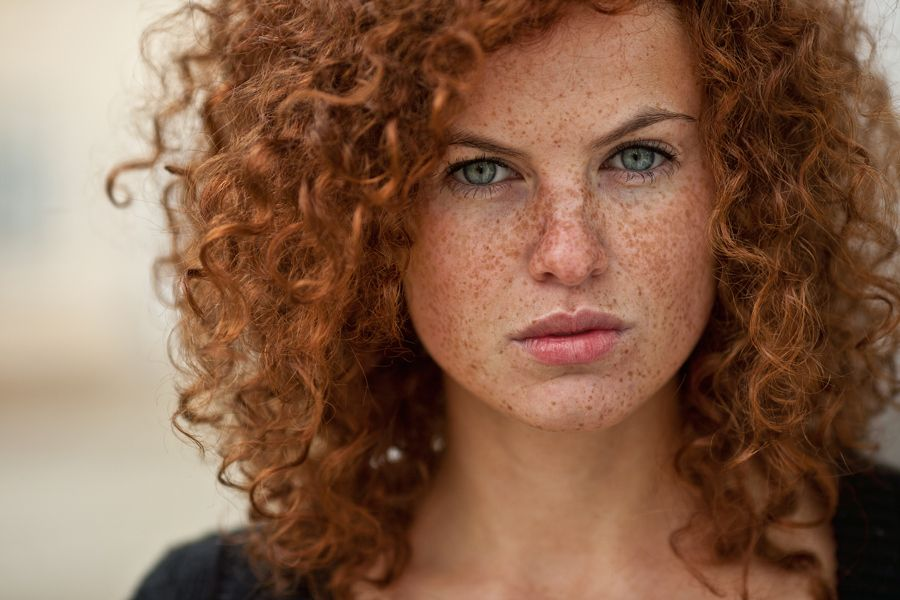 with hair redheads hot freckles