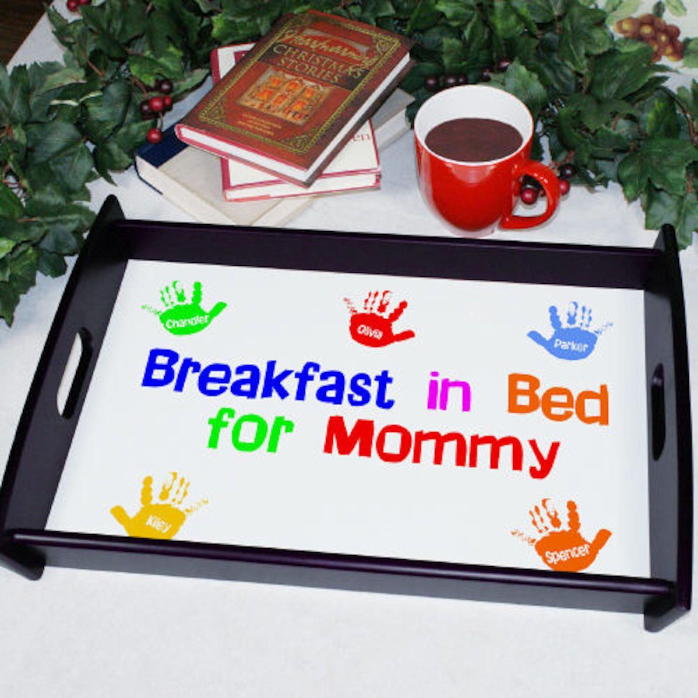 personalized breakfast in bed serving tray breakfast in bed